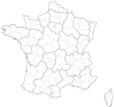 Etonnant Carte Des Régions De France ...